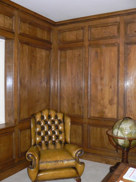 18th Century style panelling