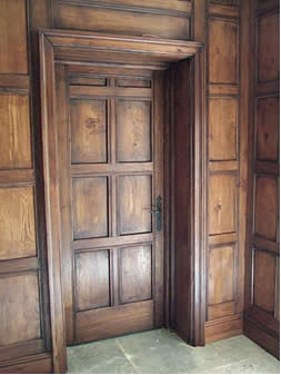 16th Century Panelling with Pilaster